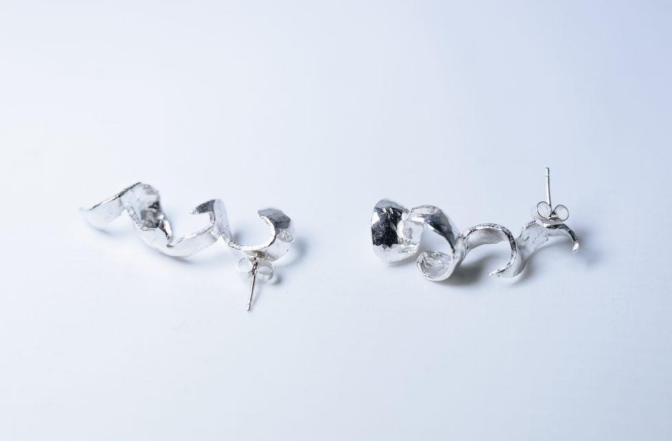 Guitar Distortion Earrings Large