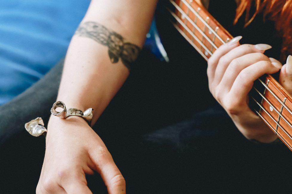 Guitar Distortion Cuff