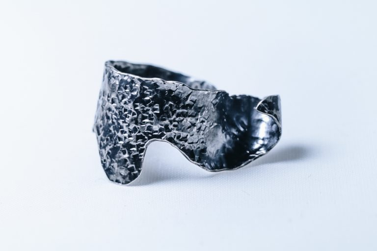 Silver Oak Leaf Ring #3