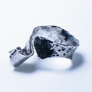 Silver Oak Leaf Ring #6