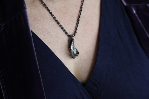 Sweet Pea Pod Necklace